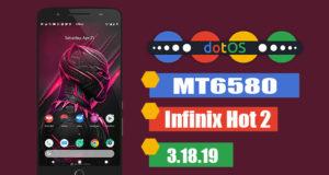 dotOS Custom ROM For Infinix Hot 2