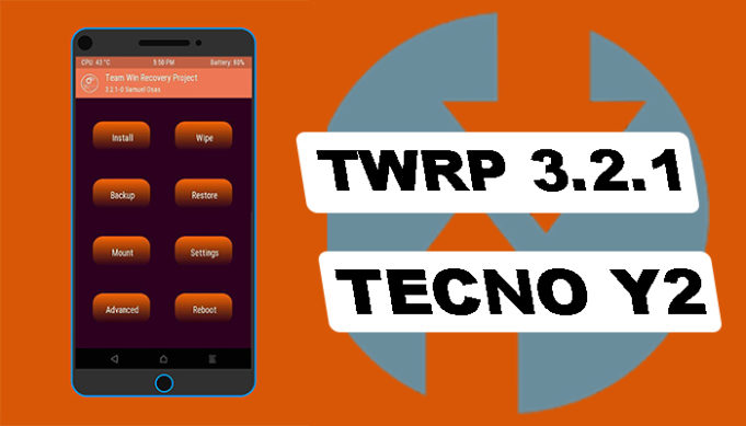 custom recovery for tecno y2