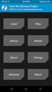 TWRP 3.2.2-0 Recovery for Infinix Hot X507