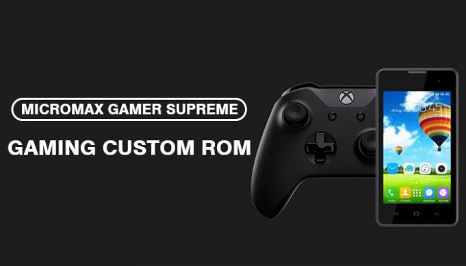 Supreme Micromax Gamer Custom ROM For Tecno Y2 By Samuel Osas