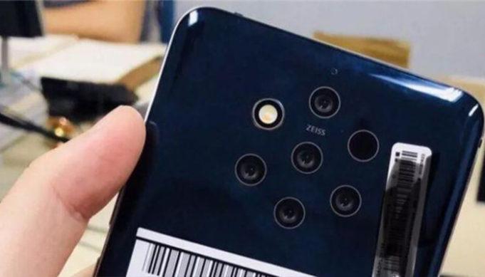 Penta-len camera - Nokia 10