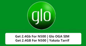 How To Subscribe Glo 2.4GB For N500 With 21 Days Validity