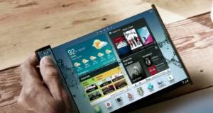 Foldable smartphone concept
