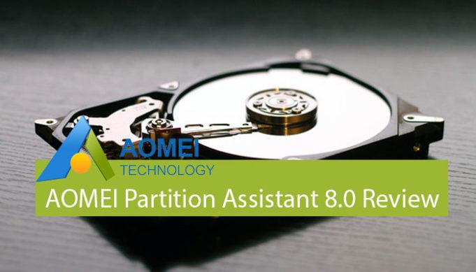 AOMEI Partition Assistant 8.0 review