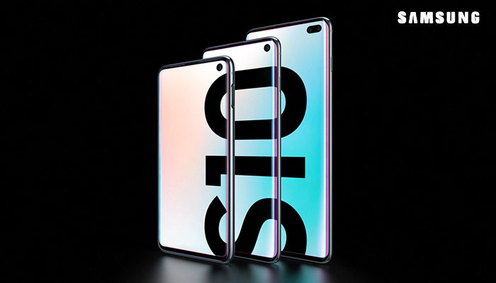Samsung Galaxy S10 phones