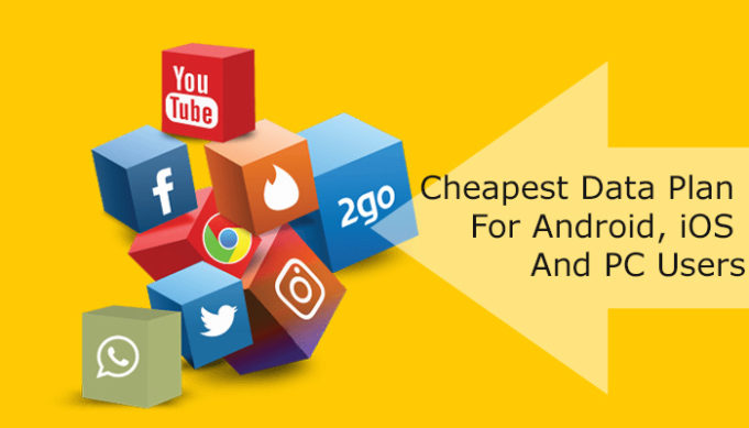 Cheap Data Plans For Android, iOS and PC Users February 2019