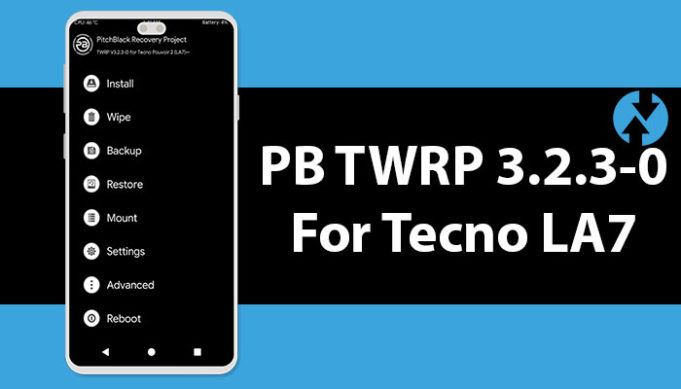 PB TWRP 3.2.3-0 Custom Recovery For MT6739