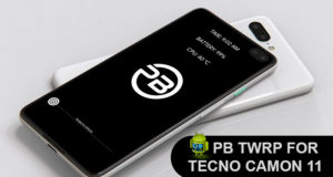 PB TWRP 3.2.3-0 Custom Recovery For Tecno Camon 11 (CF7)