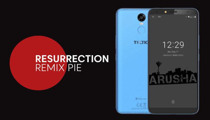 Android Pie for Tecno Pouvoir 2 Pro
