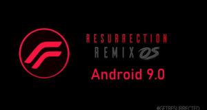 Resurrection Remix Android Pie