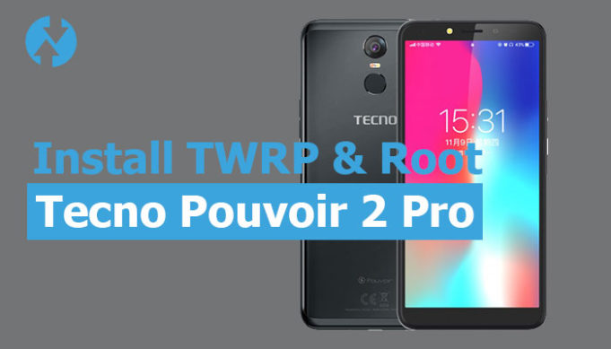 Twrp for Tecno Pouvoir 2 Pro