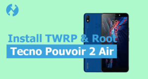 TWRP for Tecno Pouvoir 2 Air