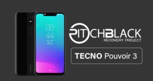 TWRP for Tecno Pouvoir 3 LB7