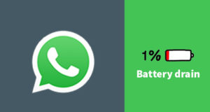 WhatsApp draining battery