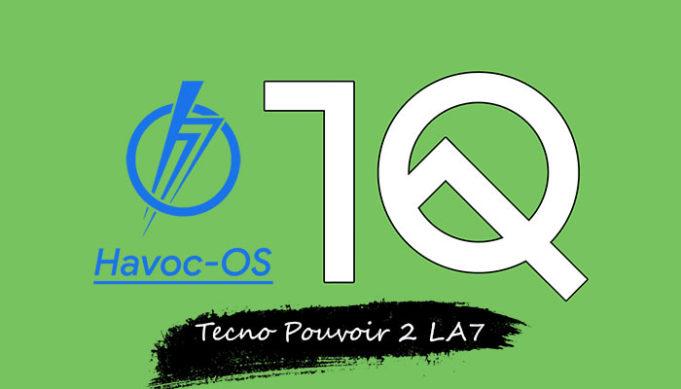 Android 10 for Tecno Pouvoir 2 LA7