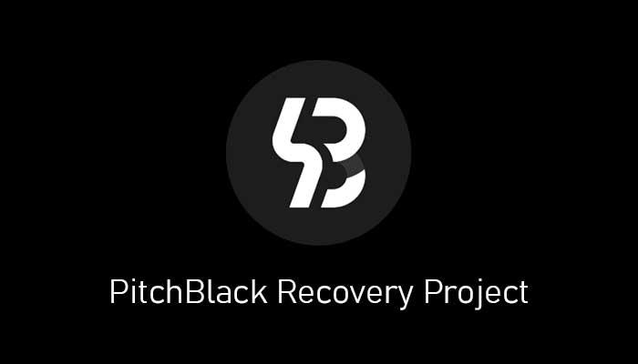 PitchBlack TWRP 3.1.0